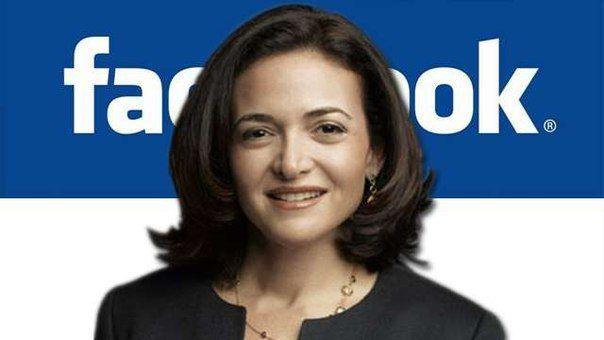 Операционный директор Facebook, Шерил Сэндберг