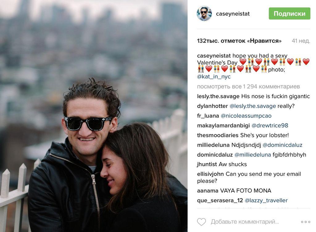 Влогер месяца на AdPage Кейси Неистат Casey Neistat